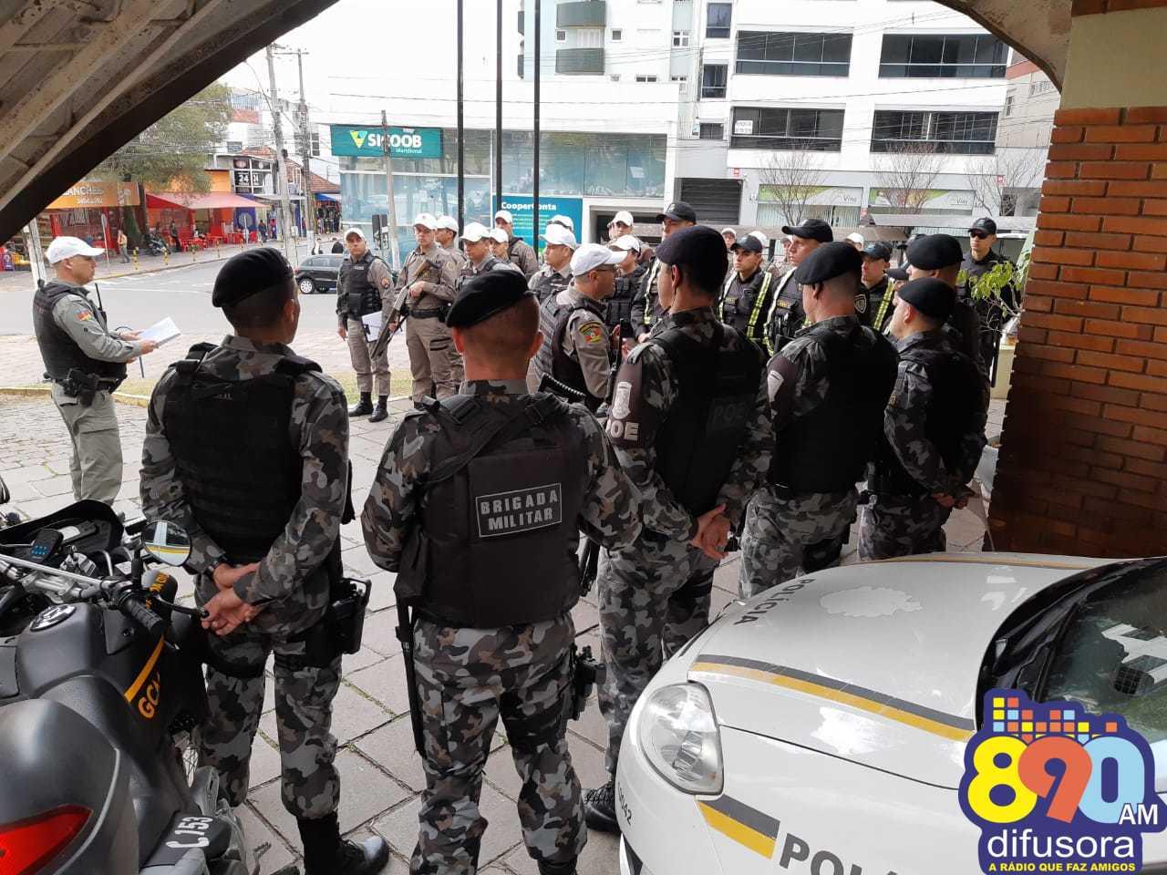 Forças de Segurança de Bento iniciam a Operação Cidade Mais Segura