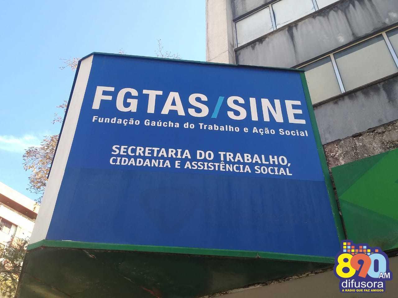 FGTAS/Sine de Bento oferta mais de 70 novas vagas de emprego na próxima semana