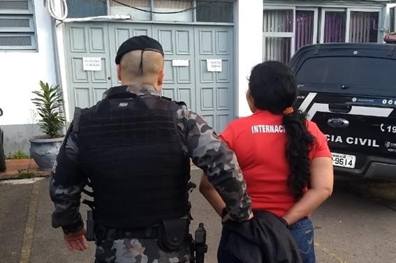 Brigada Militar prende foragida da justiça do Paraná em Bento