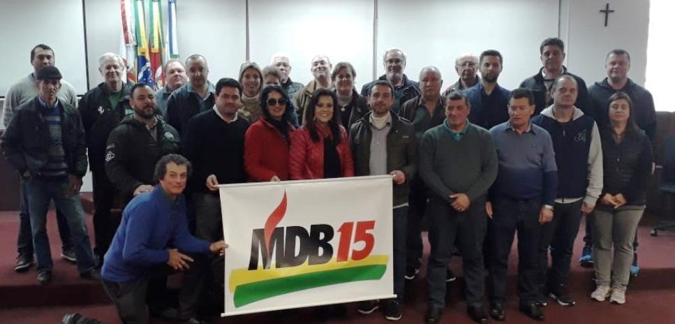 Convenção elege Idasir dos Santos na presidência da Executiva do MDB em Bento