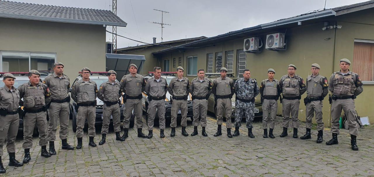 36º BPM de Farroupilha recebe reforço de doze novos soldados