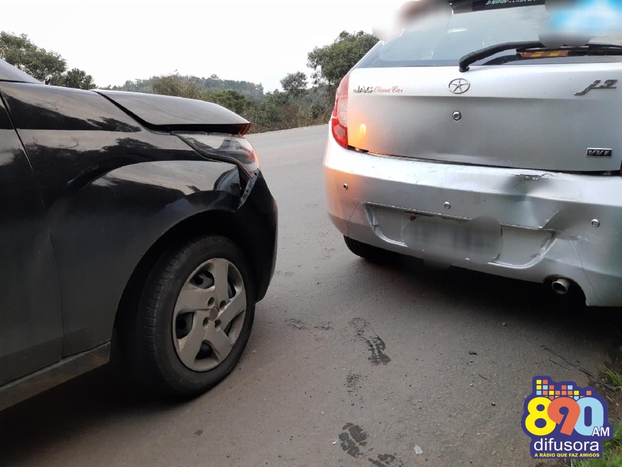 Jovem fica ferido em acidente na RSC-453 bairro Tamandaré em Garibaldi