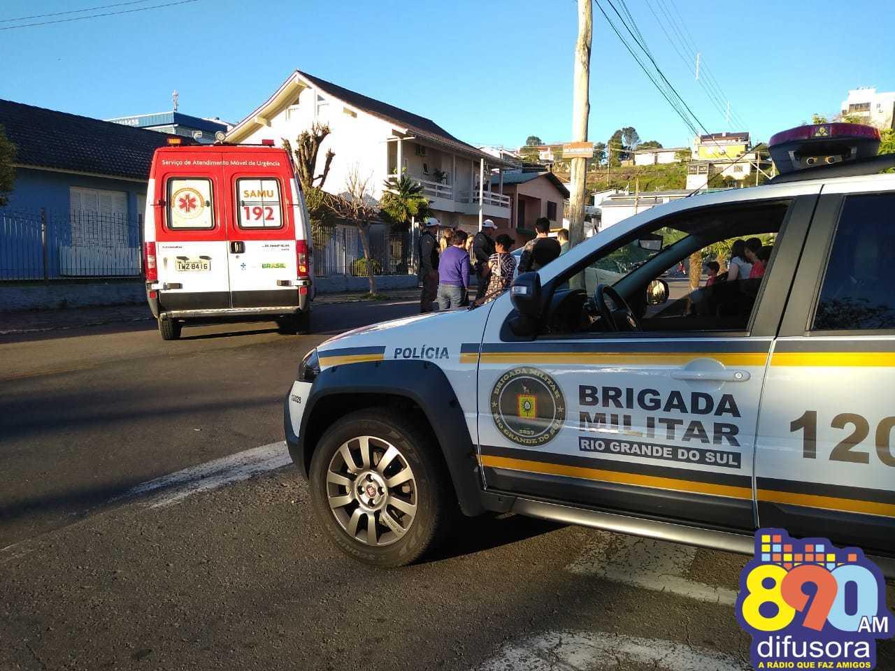 Menina é atingida por veículo em atropelamento no Licorsul em Bento