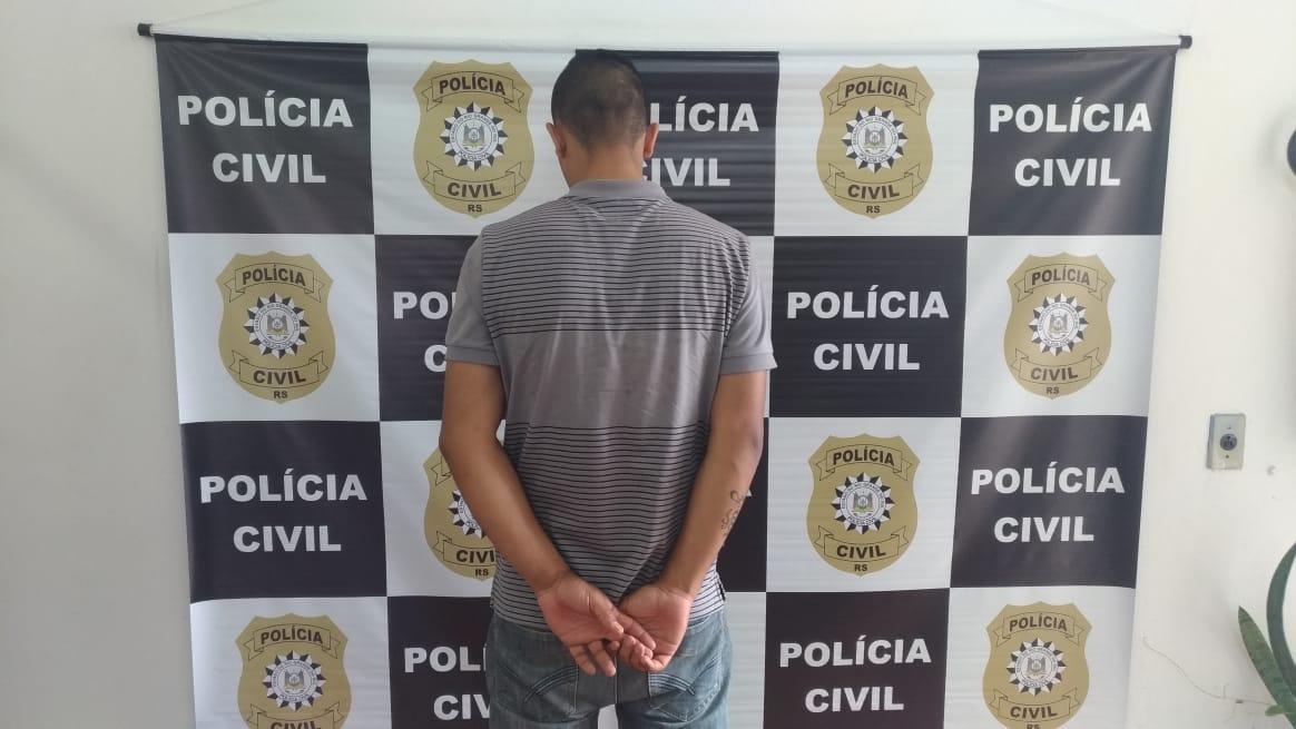 Homem é preso ao comparecer para interrogatório em Farroupilha