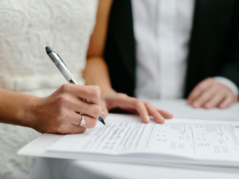 Última semana para se inscrever no Casamento Comunitário em Bento