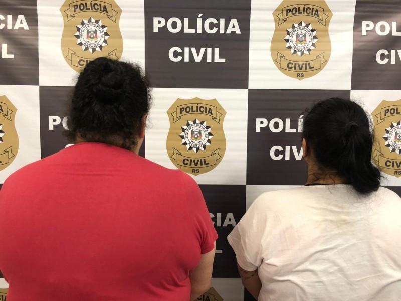 Duas mulheres são presas por tráfico de drogas em Caxias do Sul