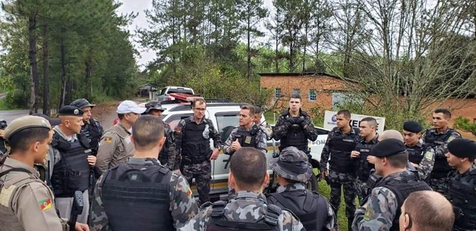 Sem trégua, BM encerra buscas a criminosos com prisão de quadrilha em Antônio Prado