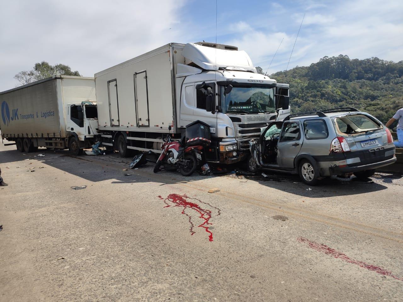 Homem morre após acidente na ERS-122 em Caxias
