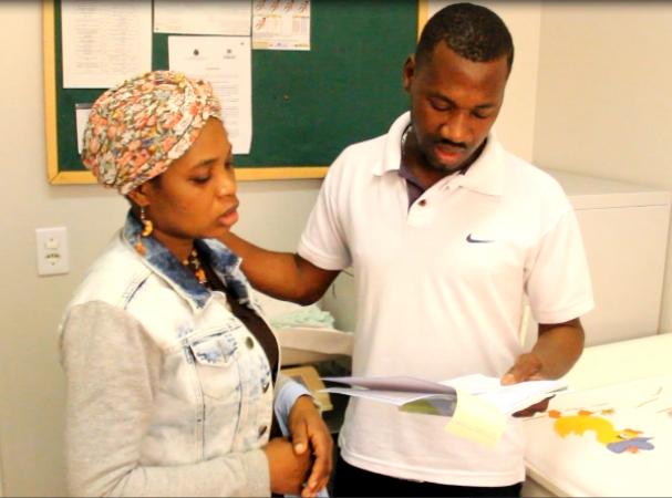 Trabalho de comunicação com imigrantes haitianos já tem resultados positivos em Bento