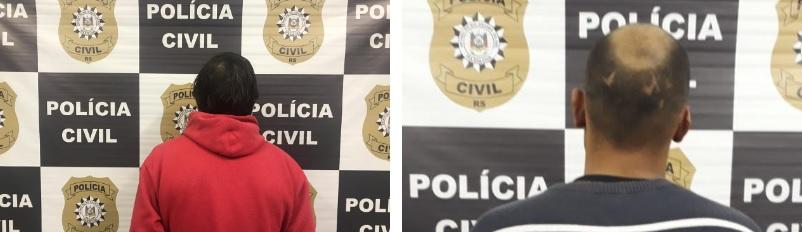Polícia Civil em Caxias prende investigado por roubo e acusado de tráfico de drogas
