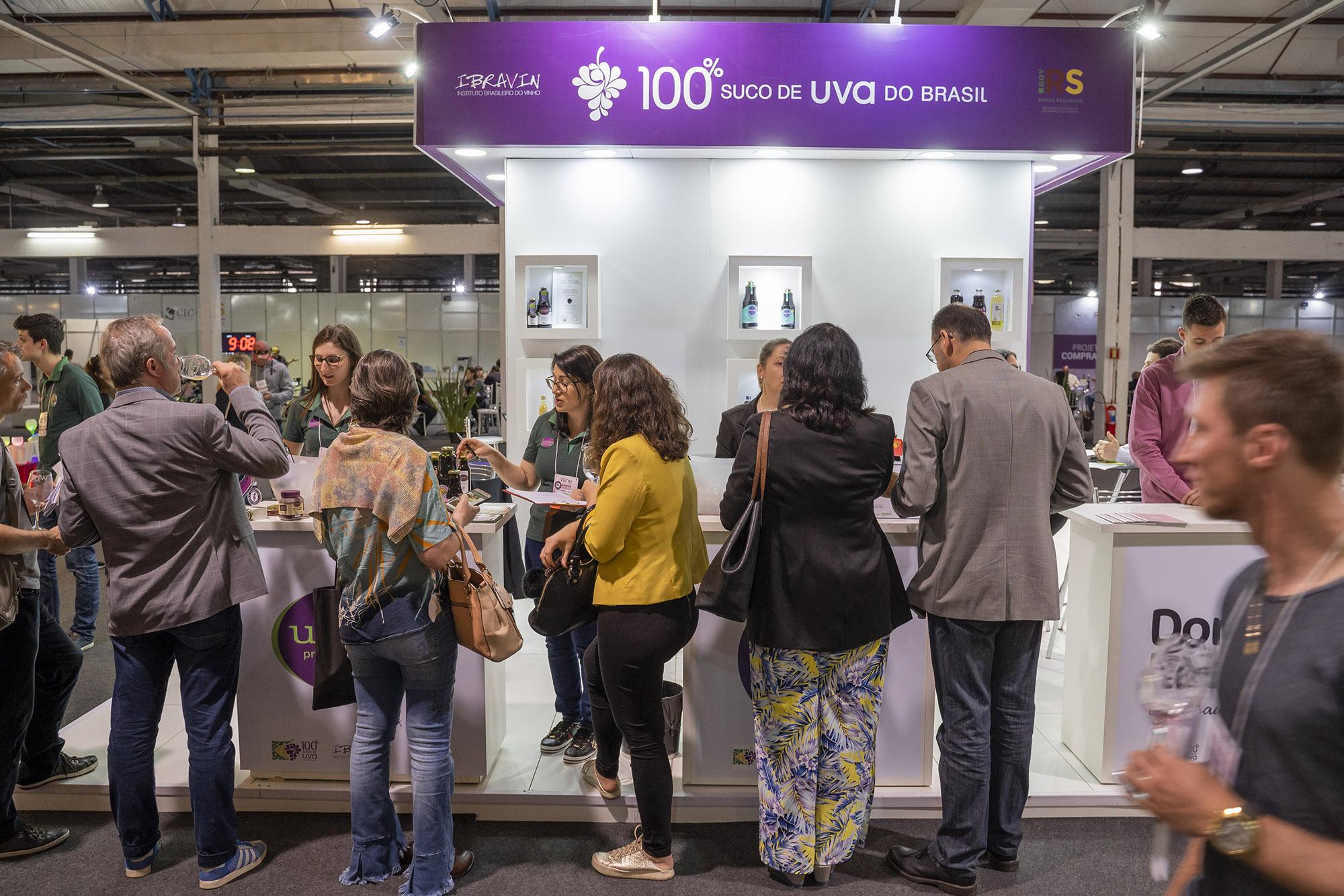 Crescimento de mercado do suco de uva chama atenção de compradores na Wine South America