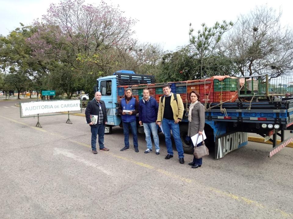 Fiscais do Ministério da Agricultura visitam a Ceasa nesta semana