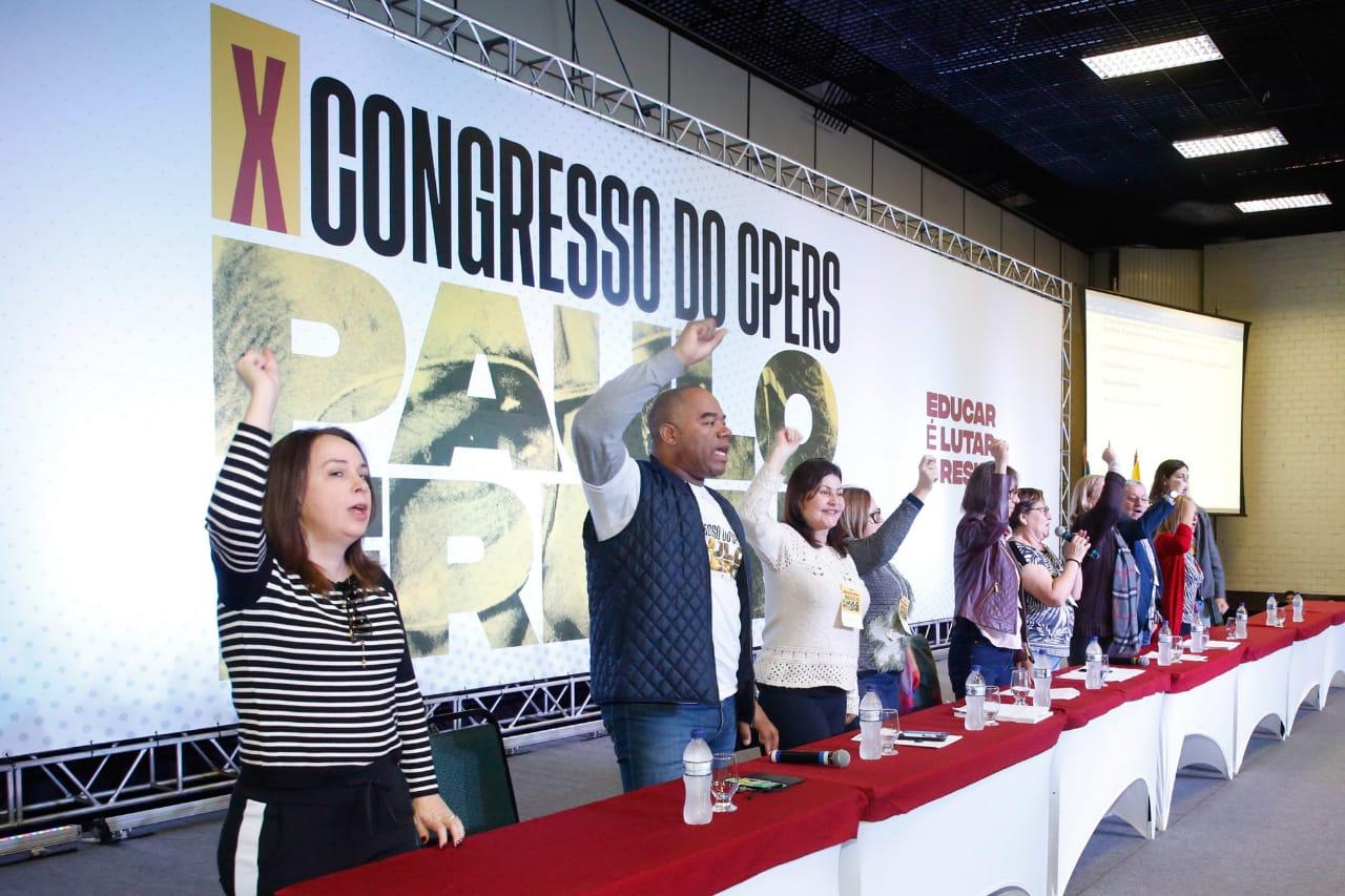 Carta de Bento Gonçalves é aprovada no encerramento do X Congresso Estadual do CPERS