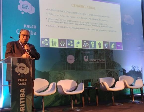 Projeto da Usina de Resíduos Sólidos de Bento é apresentado em evento em São Paulo