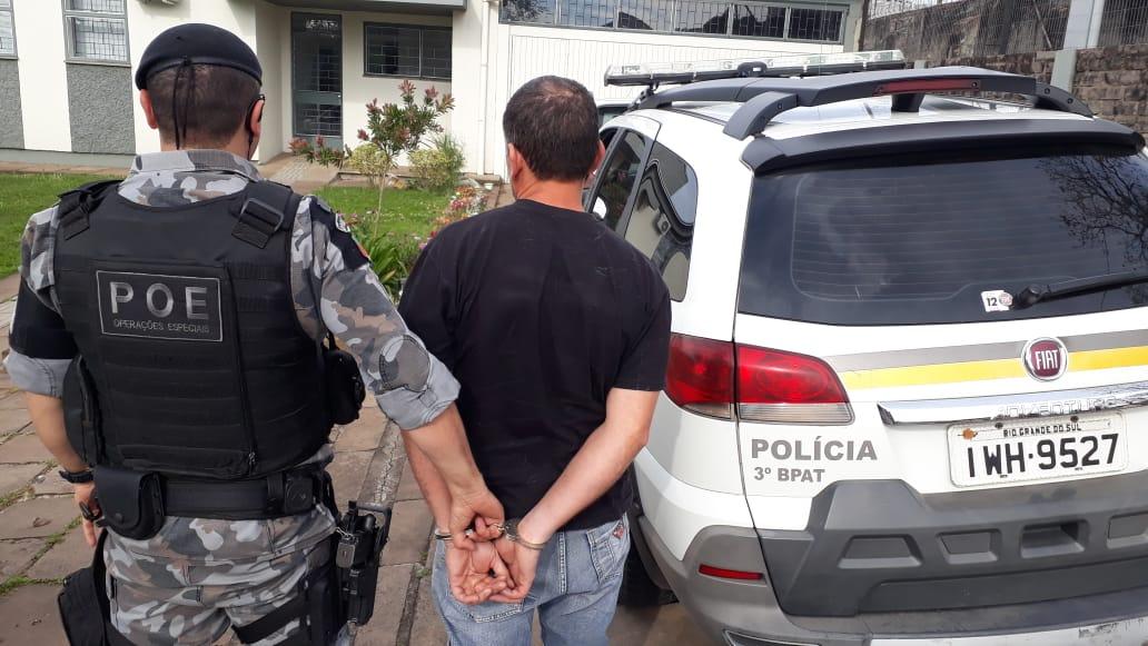 Foragido é recapturado em Nova Prata
