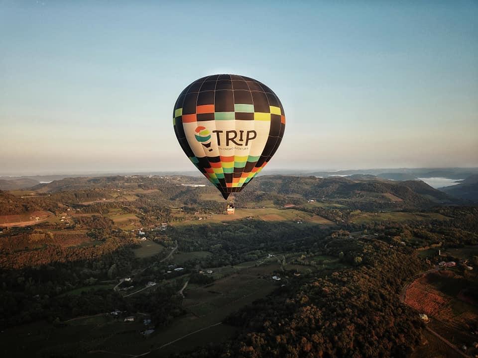 Final de semana registra novos voos de balão em Bento Gonçalves