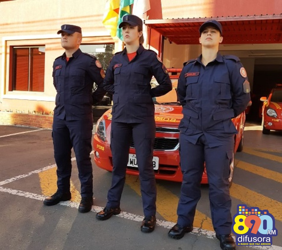 Três novos soldados reforçam a Companhia Especial de Bombeiros de Bento Gonçalves