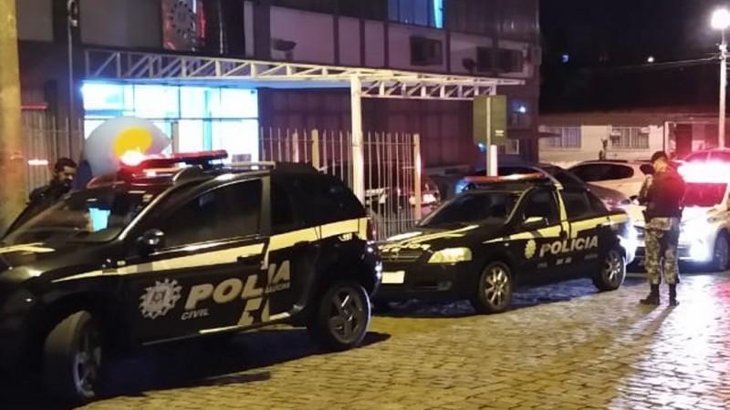 Operação Saideira combate a exploração sexual de menores, porte e tráfico de drogas em Vacaria