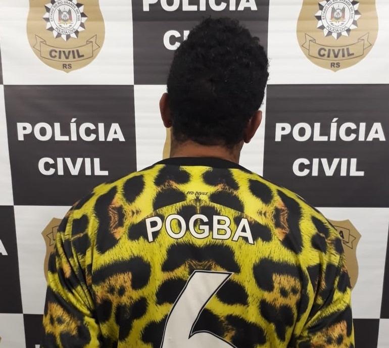 Foragido da Justiça é recapturado no bairro Pinheiros em Caxias do Sul