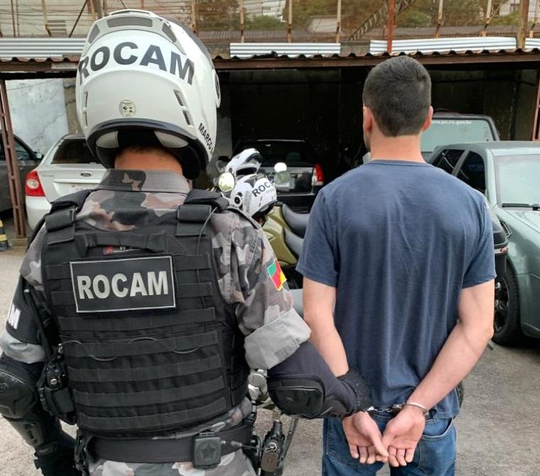 Foragido é recapturado no bairro Universitário em Bento