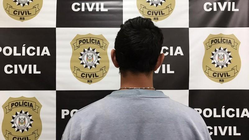 Homem é preso por violência doméstica em Canela