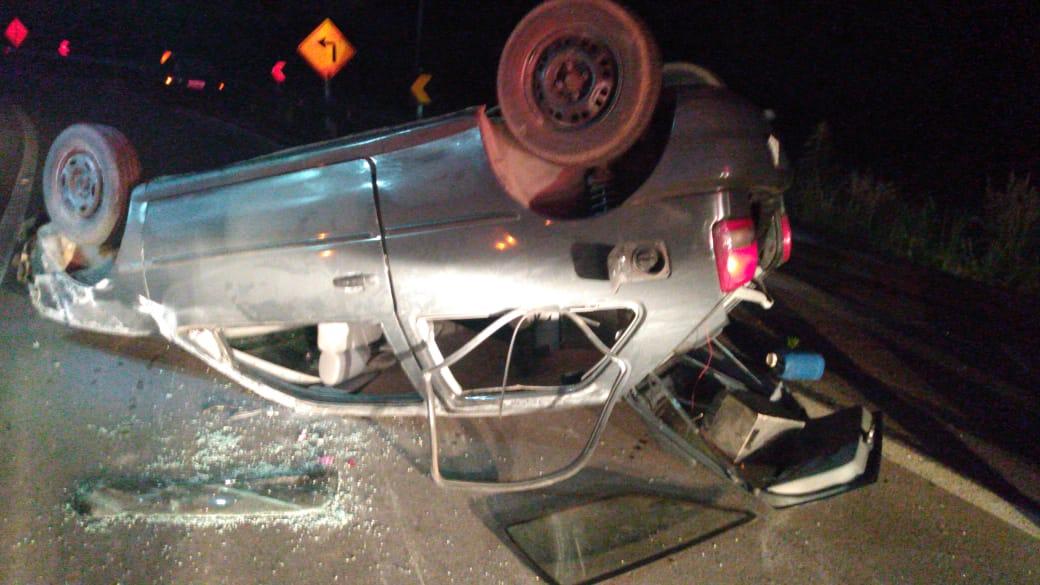 PRE de Farroupilha atende acidente com feridos e embriaguez ao volante na RSC-453 em Caxias