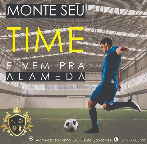 Copa de Futebol Society ocorre em novembro e dezembro em Bento