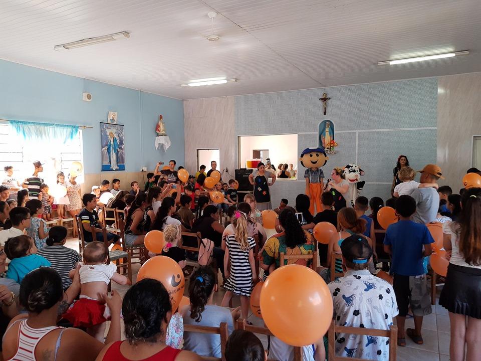 Realizada Festa do Dia da Criança no bairro Eucaliptos em Bento