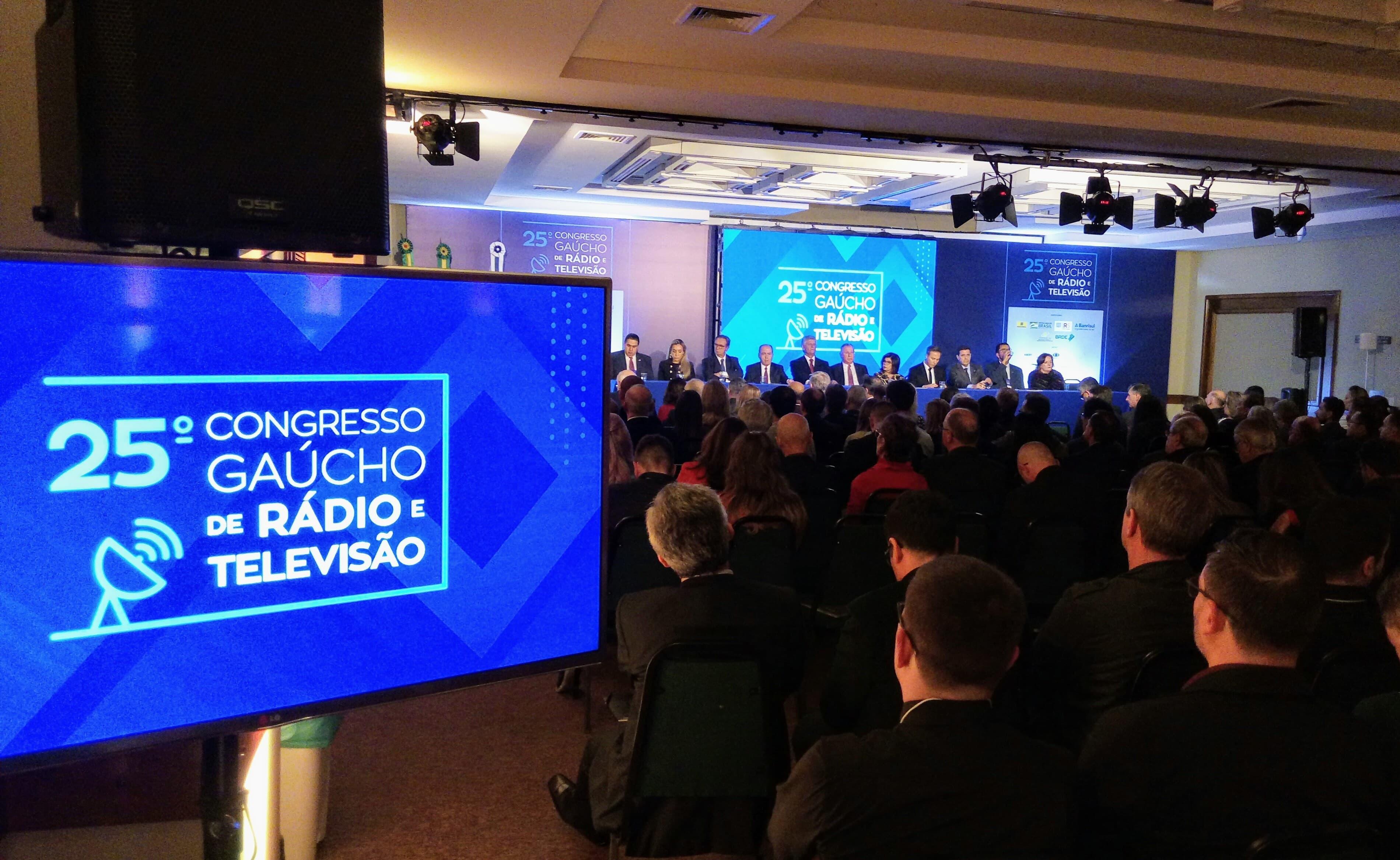 Difusora participa do 25º Congresso Gaúcho de Rádio e Televisão