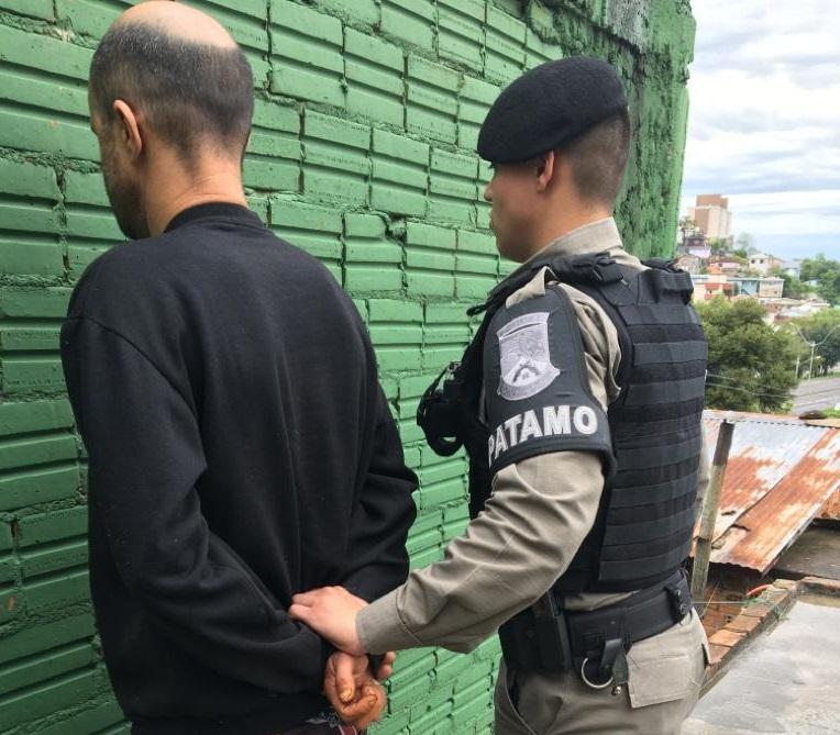 Brigada Militar recaptura dois foragidos da Justiça em Bento