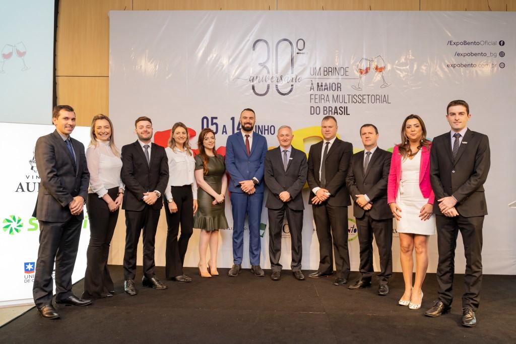 ExpoBento apresenta diretoria, anuncia atrações e show nacional para 30ª edição