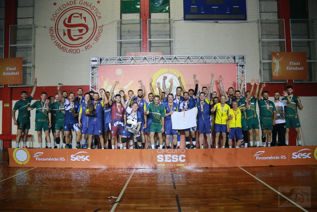 Equipe de Bento é 3ª colocada na final estadual do Circuito Sesc de Vôlei