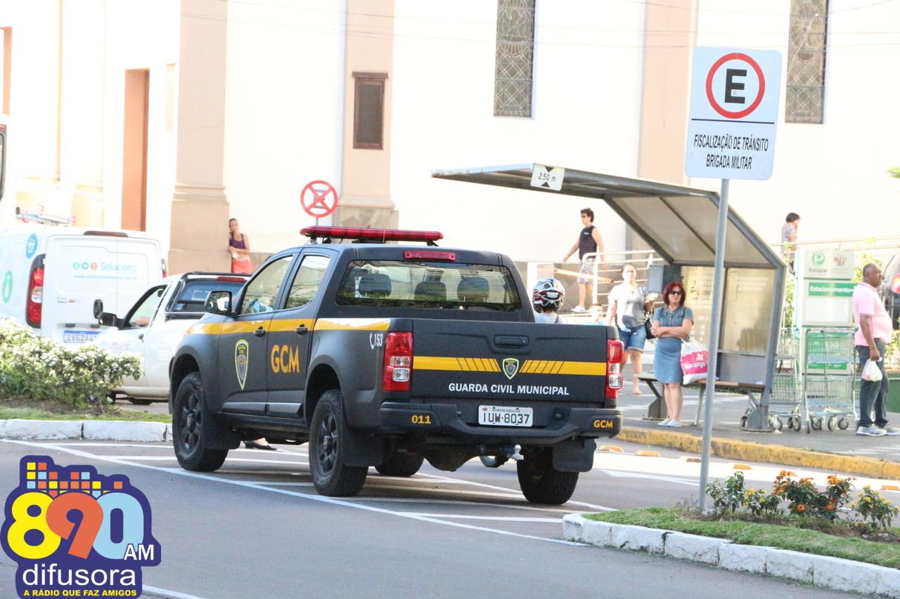 Guarda Civil Municipal prende foragido da Justiça durante Balada Segura em Bento