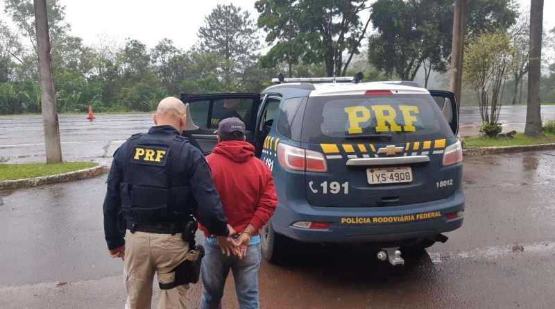 PRF captura foragido da justiça em Lajeado