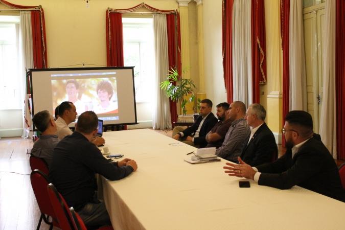 Comitê Olímpico Brasileiro se reúne com gestores de Bento Gonçalves