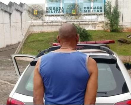 Com mandado de prisão pela Comarca de Bento, homem é detido em Ijuí