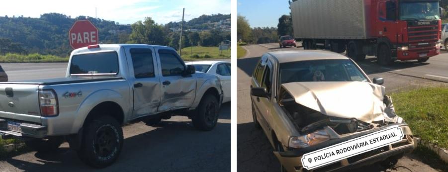Seis ficam feridos em acidente na ERS-122 em Caxias