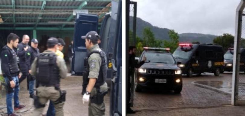Inicia transferência de presos para nova Penitenciária de Bento
