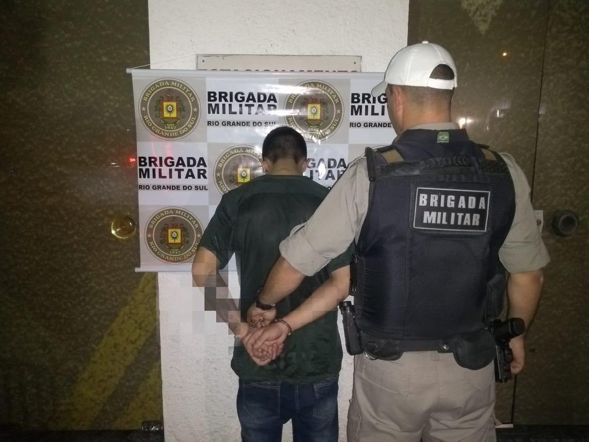 Brigada Militar prende indivíduo por tráfico de drogas em Garibaldi