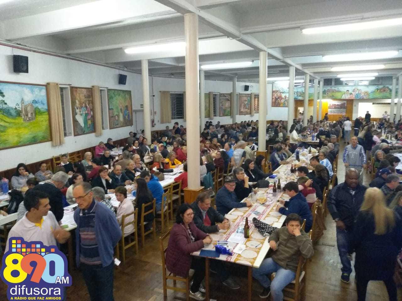 Bingo encerra programação da 63ª Festa em Honra a São Roque e São Gotardo em Bento