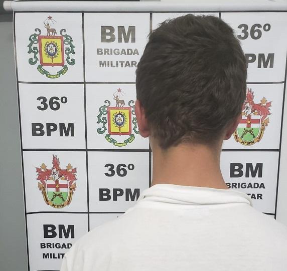 Indivíduo é detido por posse de entorpecentes em São Marcos