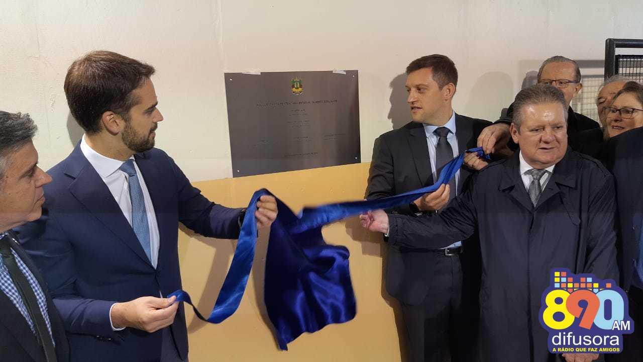 Inaugurado o novo Presídio Estadual de Bento Gonçalves