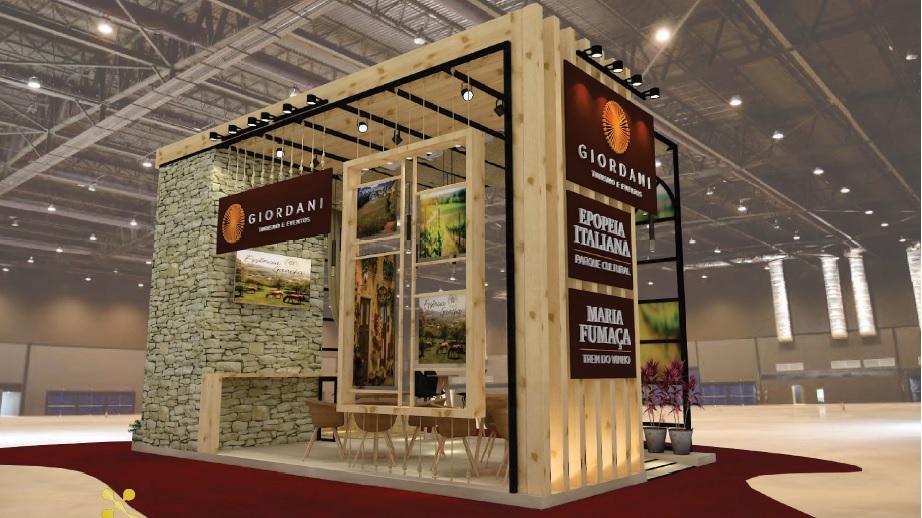 Giordani Turismo e Eventos participa do Festuris projetando 2020