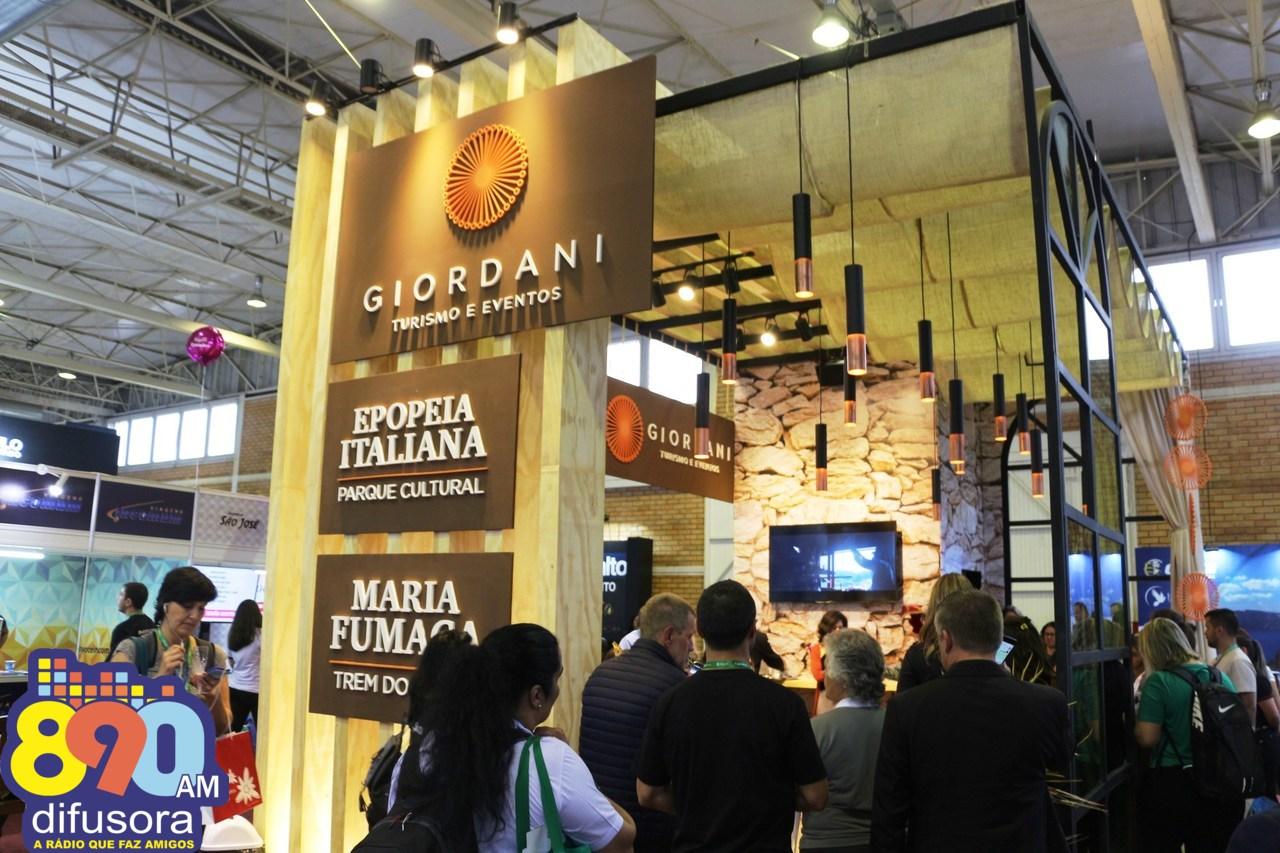 Giordani Turismo reforça portfólio e crescimento no receptivo no Festuris 2019
