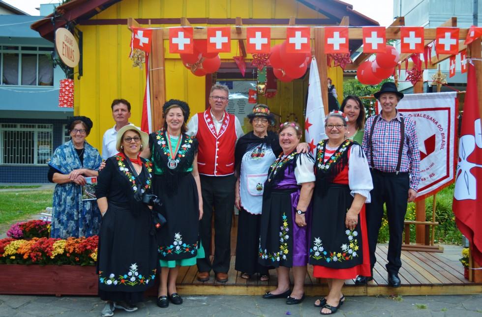 Imigrantes suíços são destaque na Casa das Etnias em Carlos Barbosa