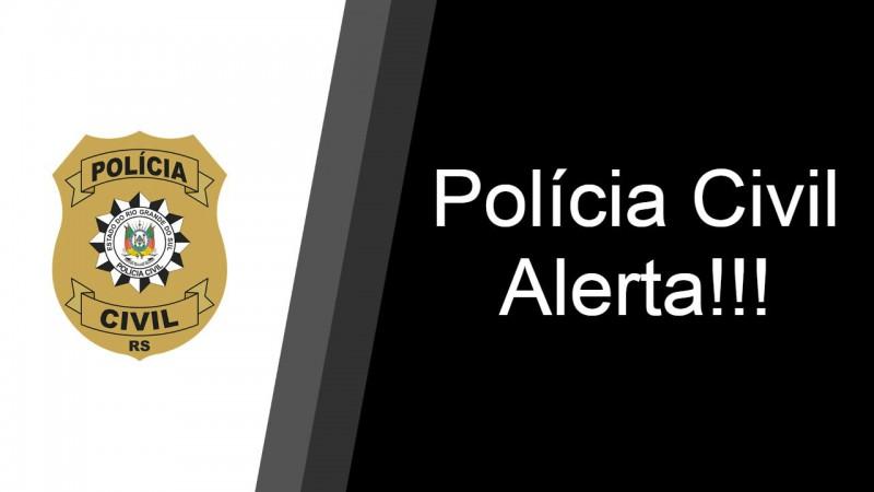 Polícia Civil alerta para golpe de estelionato