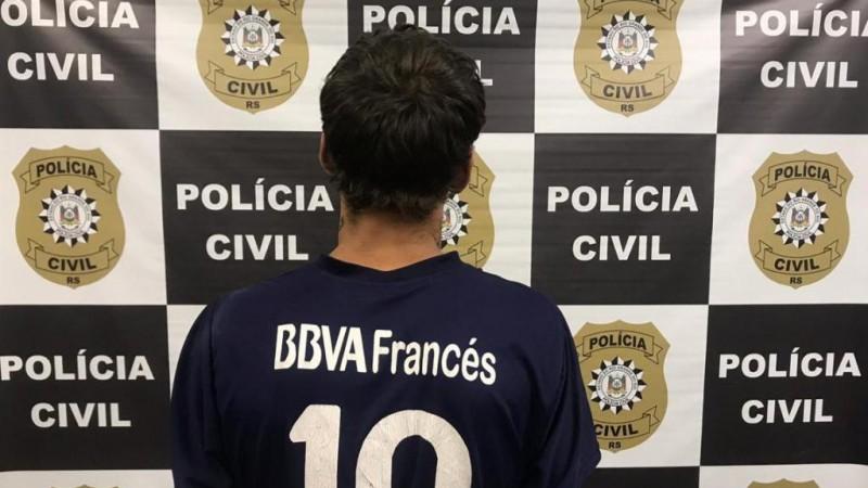 Suspeito de homicídio é preso preventivamente em Caxias do Sul