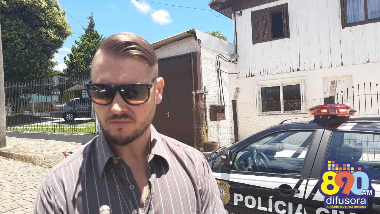 Polícia Civil trabalha com duas linhas de investigação no caso da morte de empresário em Bento