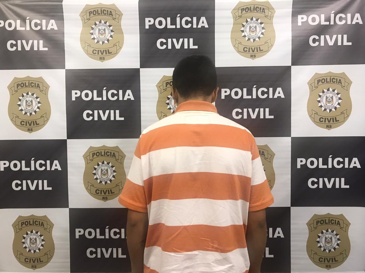 Polícia Civil de Caxias prende indivíduo investigado por roubo a motorista