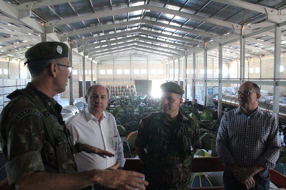 Monte Belo serve de base e apoio para forças militares da Cúpula do Mercosul